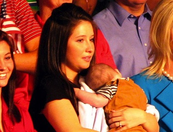 Bristol Palin during John McCain's 2008 presidential campaign (Creative Commons)