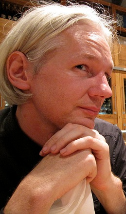 Julian Assange, creator of WikiLeaks (Creative Commons)