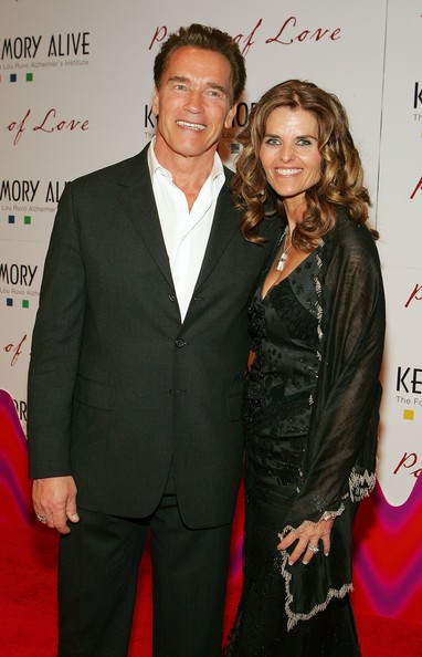 Arnold Schwarzenegger and Maria Shriver (creative commons)