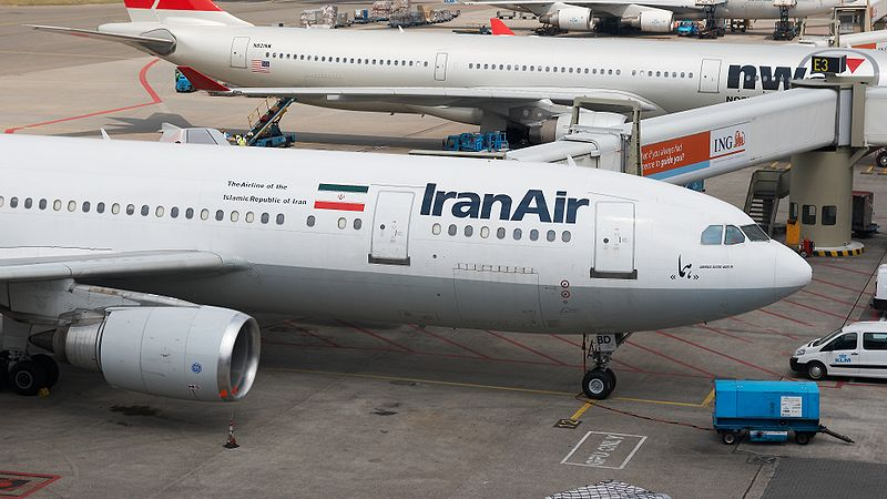 An IranAir plane broke apart in the air, killing more than 70. (Creative Commons)