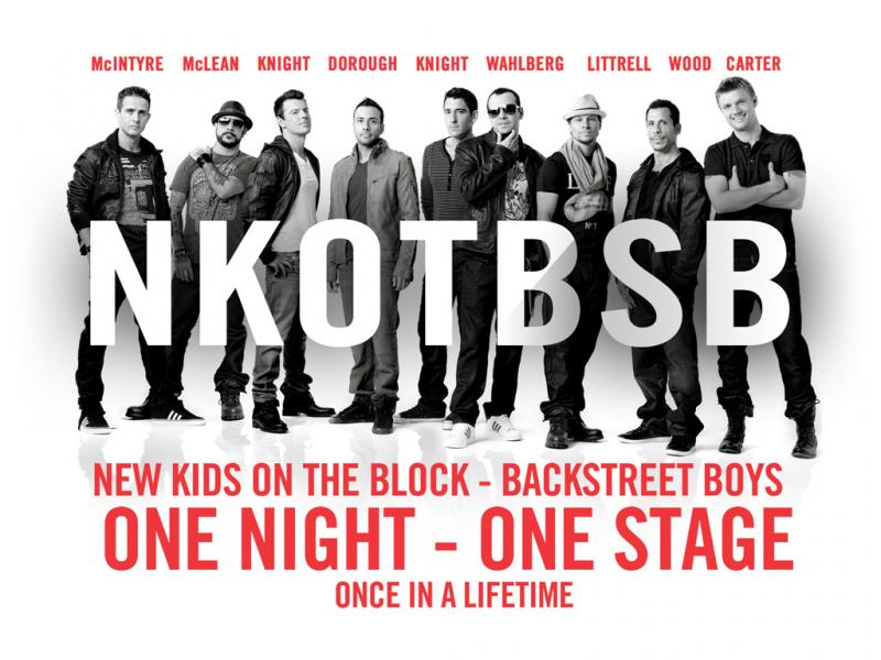 New Kids On The Block and Backstreet Boys unite for NKOTBSB