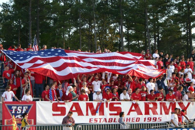 You don't have to be in Sam's Army to keep enjoying American soccer. (Jarrett Campbell via Wikimedia Commons)