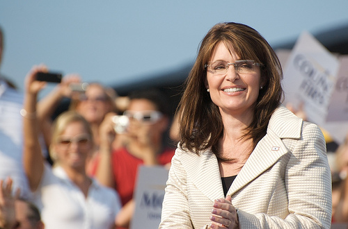 Sarah Palin (Courtesy Creative Commons)