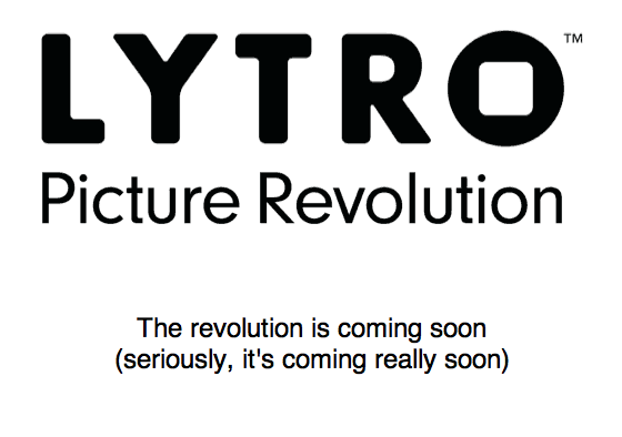 Will Lytro's No-Focus technology revolutionize the world of photo? (Lytro.com)