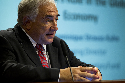 IMF chief Dominique Strauss-Kahn (photo credit: International Monetary Fund)