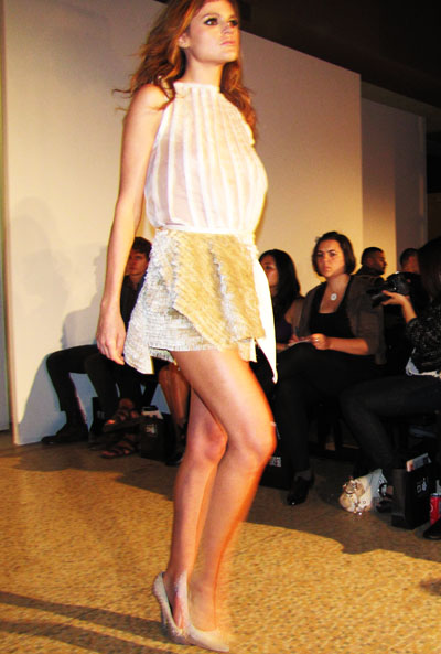 Bryan Hearns SS11 collection (Photo by Tess Goodwin)