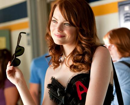 "Emma Stone in ""Easy A"" (Photo courtesy of Sony Pictures)"