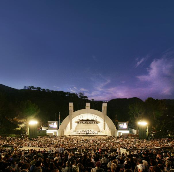 Hollywood Bowl Courtesy of Los Angeles Philharmonic Association