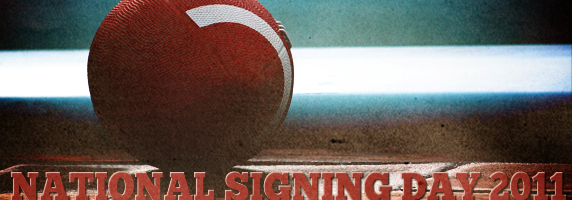 National Signing Day is upon us. (Photo: ektogamat/Flickr, Graphic: Jenn Fong/Neon Tommy)