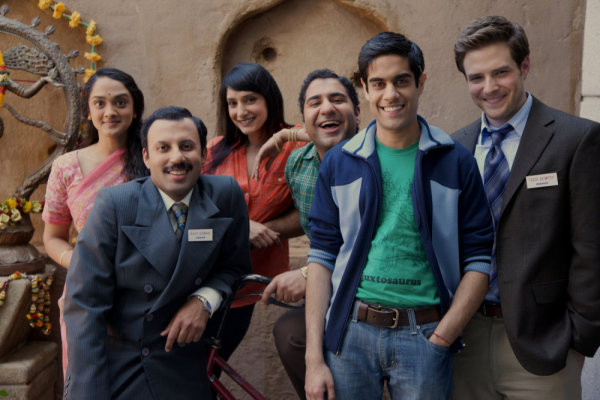 "The cast of ""Outsourced"" on NBC (Mitchell Haaseth/NBC)"