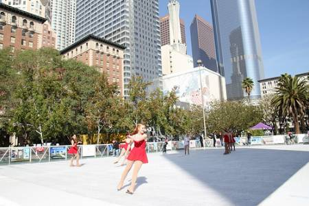 Skate in downtown L.A.'s Pershing Square (Creative Commons)