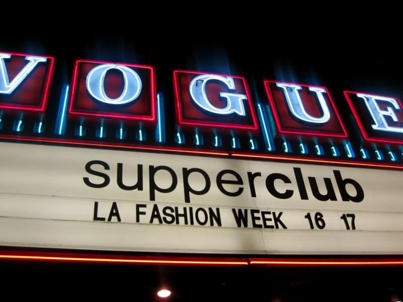 supperclub in Hollywood