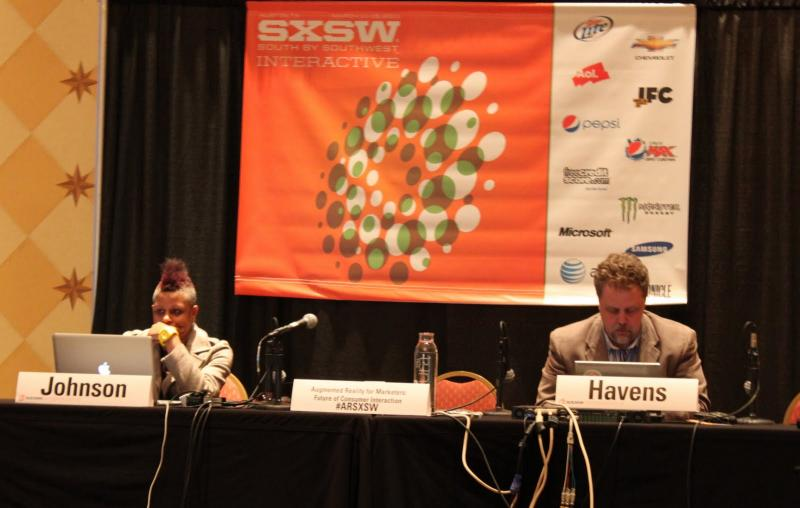 Panelists at SXSW say Augmented Reality will be a new marketing space.