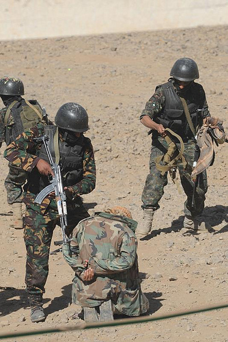 Counter-terrorism exercises in Yemen (Photo Creative Commons)