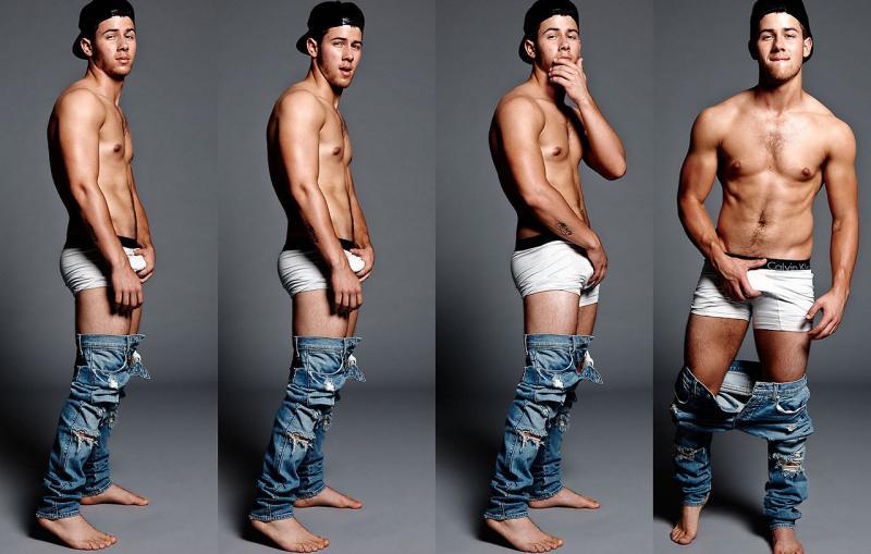 Nick jonas full frontal nude