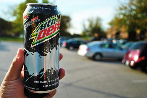 Mountain Dew The Dark Knight Rises Drink (tumblr)