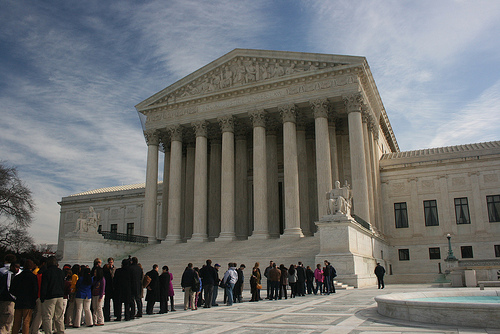 The Supreme Court is poised to decide the constitutionality of affirmative action in admissions and hiring policies. (Supermac1961, Creative Commons)