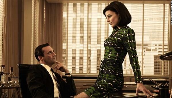 "Jon Hamm as Don Draper in ""Mad Men"" (twitpic