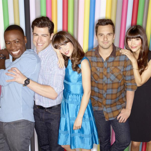 "The cast of ""New Girl,"" one of the sitcoms returning this fall (Fox)"
