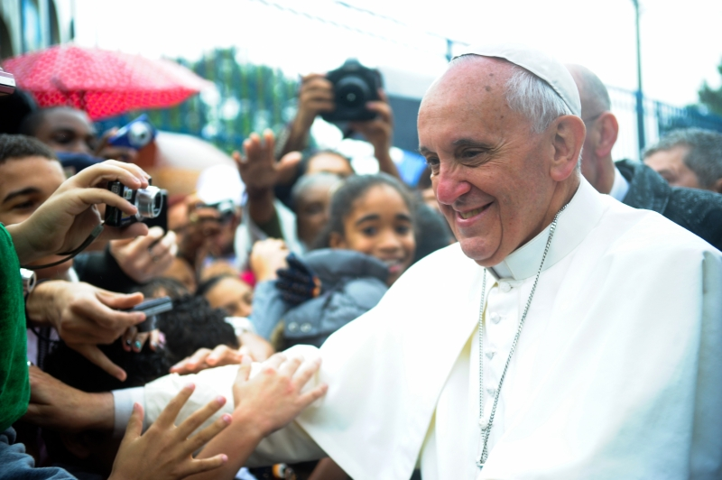 Pope Francis. (Wikimedia Commons)