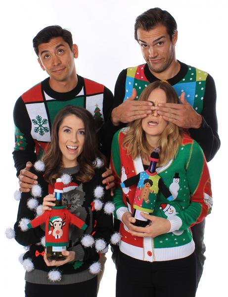 Save The Children With National Ugly Christmas Sweater Day | Neon ...