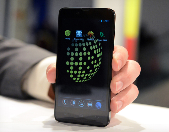 "The new Blackphone is supposed to be ""NSA proof"". (Twitter, @BeSuprmasv)"