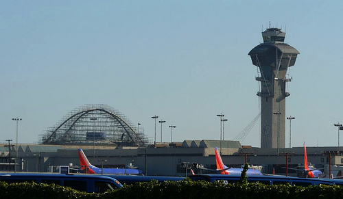 LAX is one of the biggest international travel hubs. (Creative Commons/Flickr User jondoeforty1)