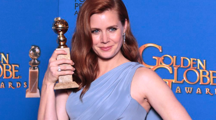 "Amy Adams wins for ""Big Eyes"" (Twitter/ @cindyhivey)"