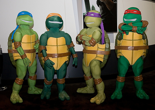 9 group halloween costumes with a twist neon tommy the only real requirement for an effective ninja turtle costume is the colored head band solutioingenieria Image collections
