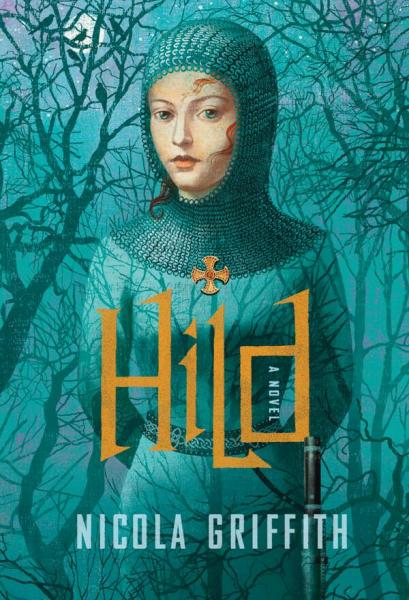 """Hild"" by Nicola Griffith, published by Farrar, Straus and Giroux. (TheGernertCo/Twitter)"
