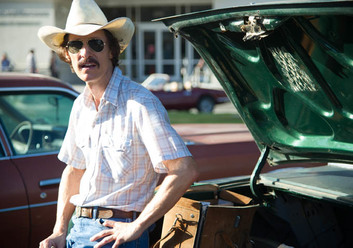 "Matthew McConaughey takes on the ambitious role as Ron Woodroof in ""Dallas Buyers Club"" (Focus Features)."