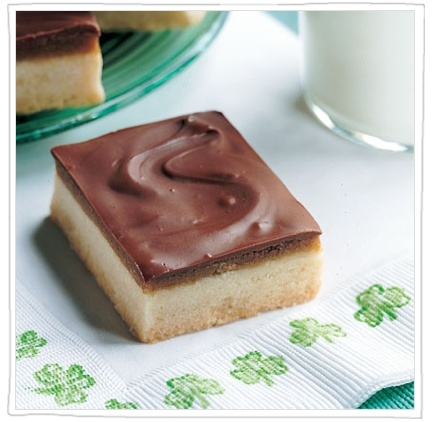 Toffee Shortbread is a traditional Irish treat (Molly Hayden Gold/Pinterest).