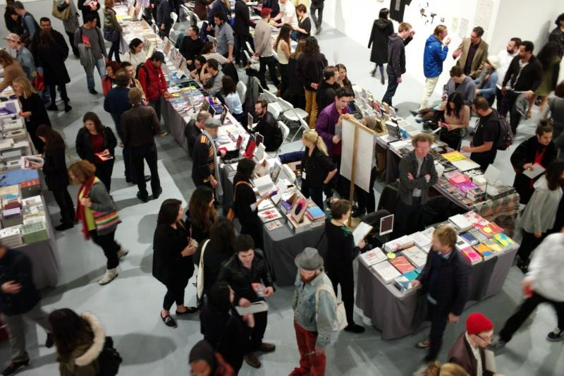 The LA Art Book Fair attracted hundreds of art lovers last weekend. (Vaan/Printed Matter, Inc.)