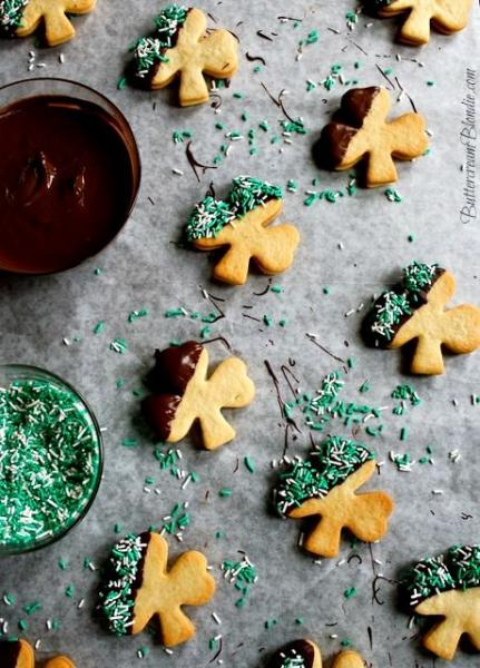 Baileys infused cookies are the perfect way to celebrate Saint Patricks Day (Leisha Shigenaga/Pinterest).