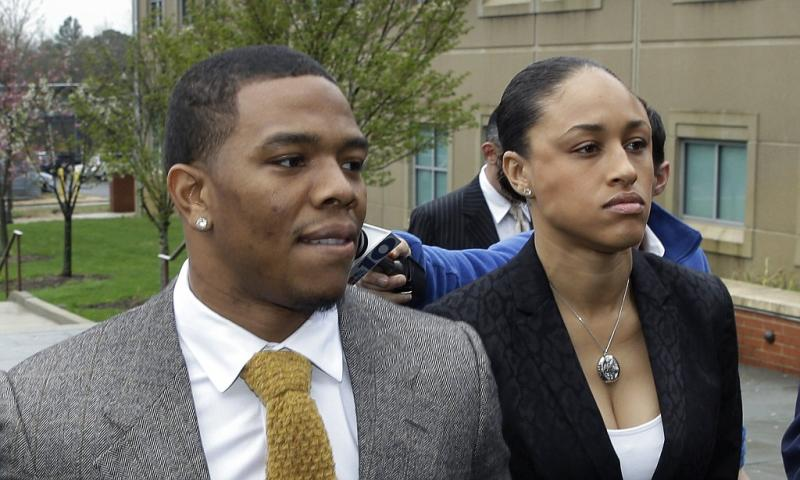 Janay Rice and husband, former Baltimore Ravens runningback, Ray Rice. (michael89156/Flickr)