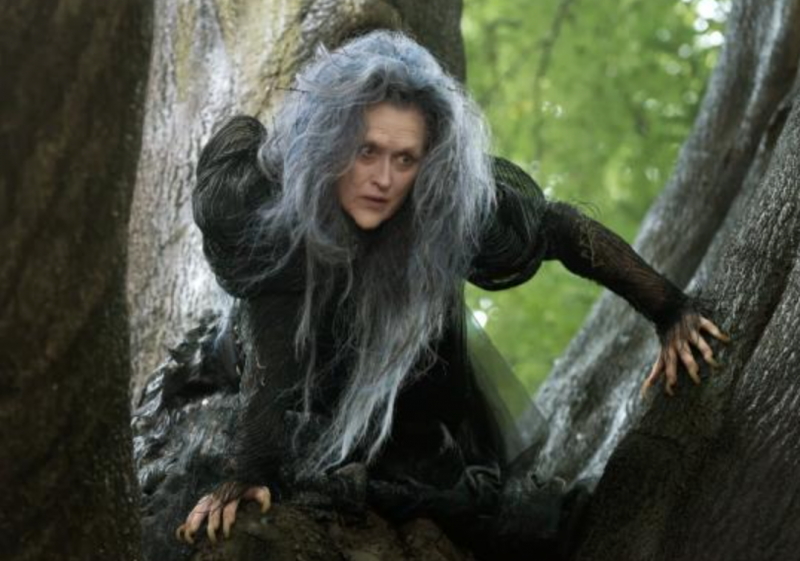 Meryl Streep as The Witch (@ThePlaylist/Twitter)