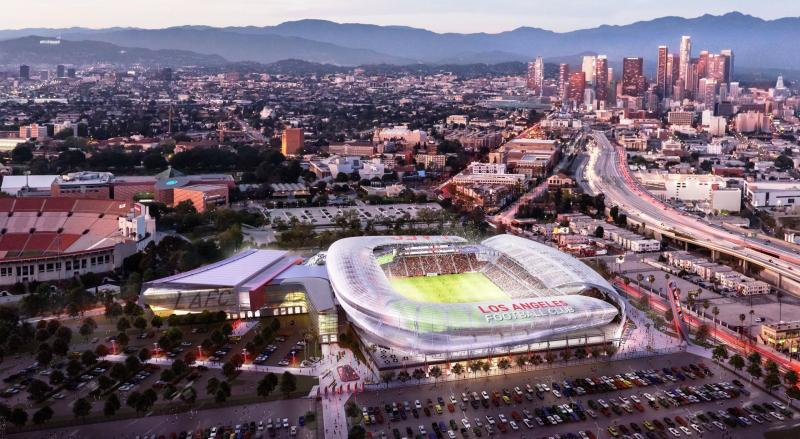 Stadium design renderings by Gensler (via LAFC.com)