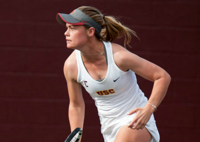 Two sweeps propelled the Women of Troy to a ITA Tourney win over the weekend. (John McGillen/USC Athletics)