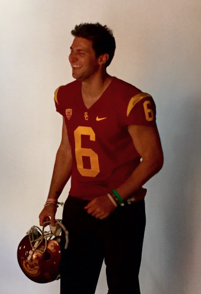 Cody Kessler during a Media Day photoshoot (Paolo Uggetti/Neon Tommy)
