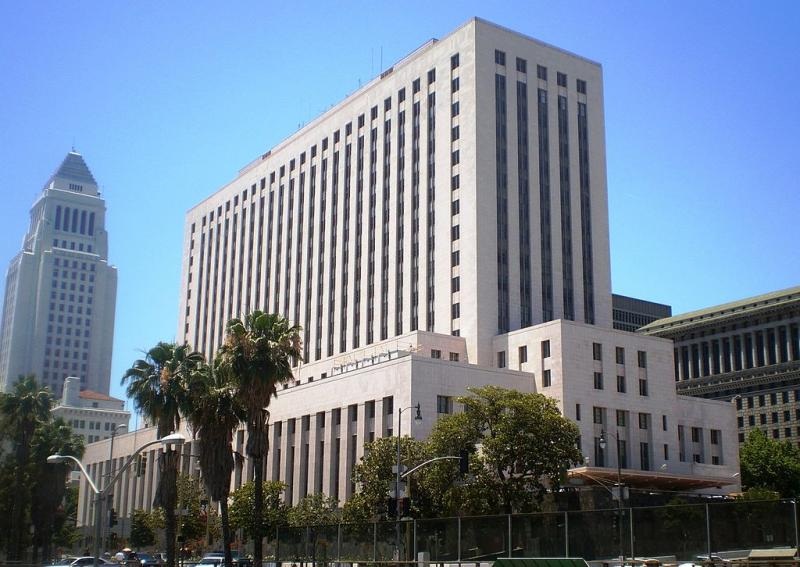 The Los Angeles Courthouse in Downtown. (Wikimedia Commons)