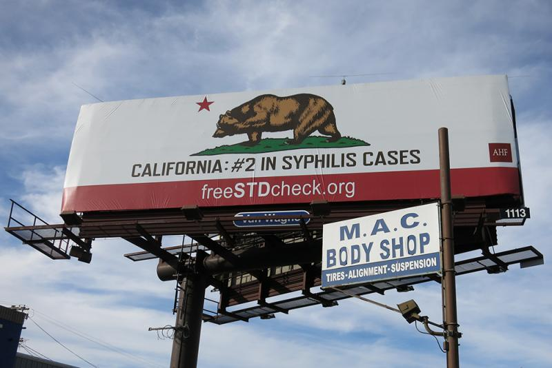 California has the second-highest syphilis rate of all 50 states. (Signe Okkels Larsen/Neon Tommy)
