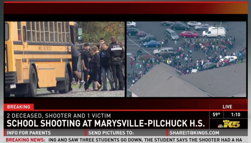 Two Are Dead And More Injured In A High School Shooting Washington State