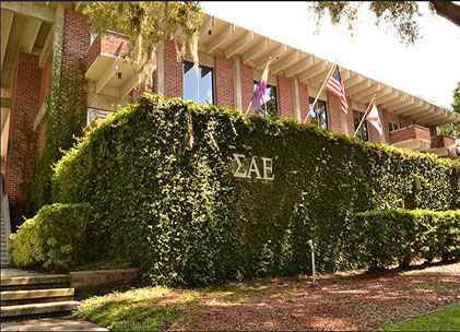 Around 70 fraternity members moved from the SAE house Tuesday night because of University President's order of punishment (Artie White/flickr)