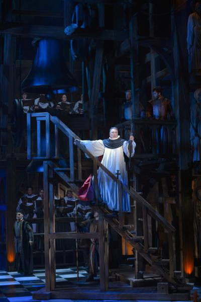 Patrick Page as Dom Claude Frollo (Kevin Berne/La Jolla Playhouse)