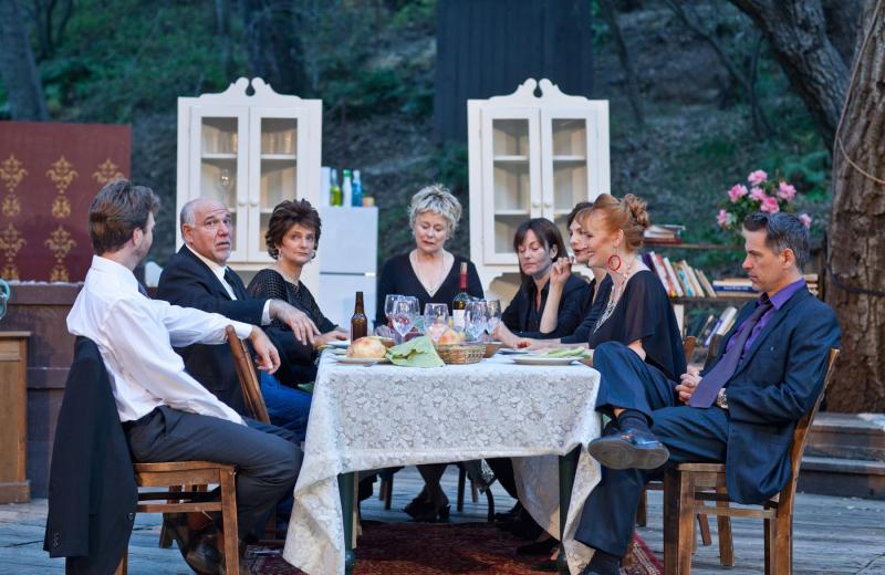 "Osage County"" at the Theatricum Botanicum. Photo by Miriam Geer."