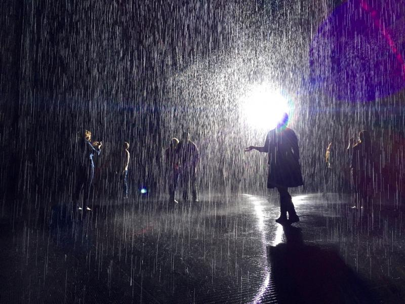 Rain Room At LACMA Rejuvenates Old Artistic Ambitions | Neon Tommy