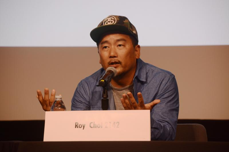 "Chef Roy Choi of Kogi Truck fame wrote the foreword for ""To Live and Dine in L.A."", which comes out in June. (Morgan Greenwald/Neon Tommy)"