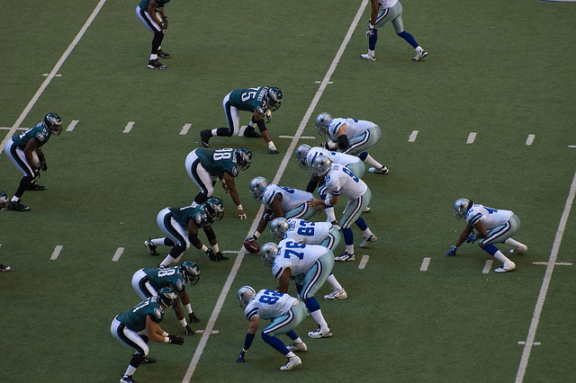 The Eagles and Cowboys sit atop the NFC East. (Billy Bob Bain/Flickr)