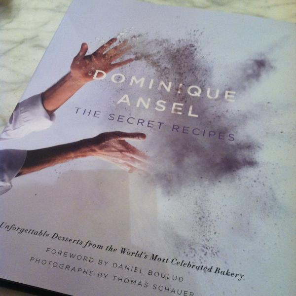 Dominique Ansel's exquisite new cookbook. (Sara Tiano/Neon Tommy)