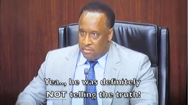 "Joseph Teixeira criticizes Inglewood Mayor James T. Butts Jr. in his YouTube video ""James T Butts Jr Alibi or apology."""